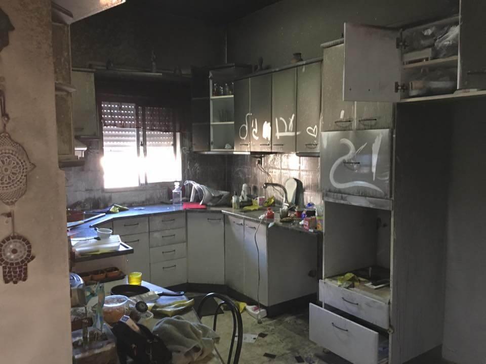 שיקום בית לאחר שריפה בחיפה
